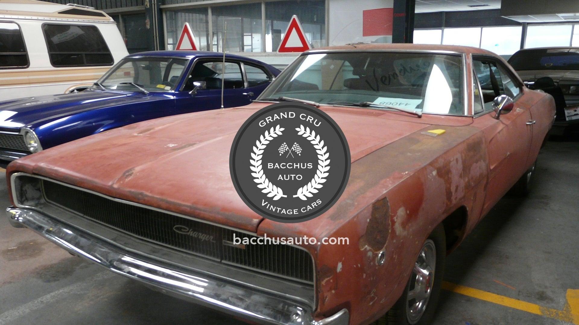1968 Dodge Charger Project Car Bacchus Auto Vintage Cars