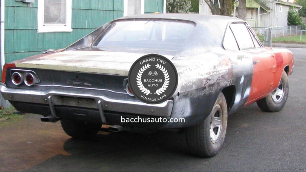 1968 dodge charger 440 rt project car bacchus auto vintage cars. Black Bedroom Furniture Sets. Home Design Ideas